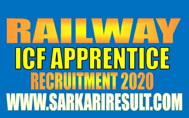 Railway IFR Apprentice Recruitment 2020